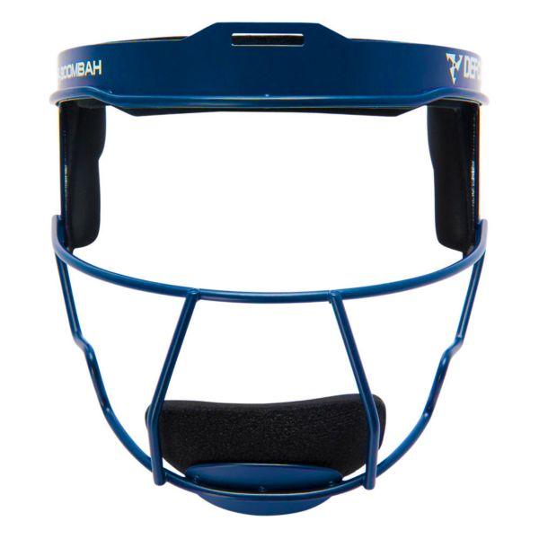Boombah DEFCON Solid Steel Fielder's Mask Royal