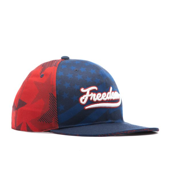 Men's Elite Series Solid Snapback USA Freedom Navy/Red/White