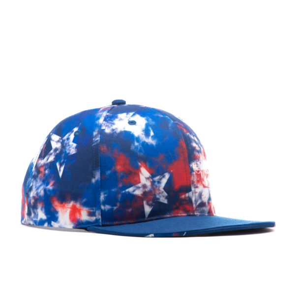 USA Tie Dye Elite Series Snapback Hat