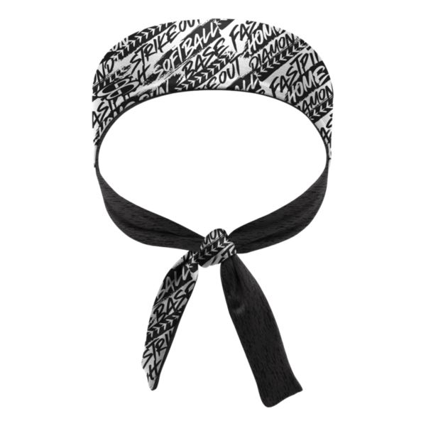 Women's Fastball Tie Performance Headband
