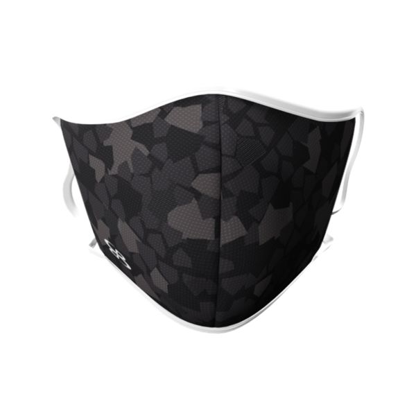 Plate Camo Dual Strap Tie On Face Mask - 3 Pack
