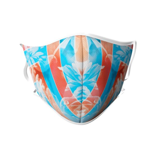 Full Dye Face Masks-3 packs-Unisex-Floral AQ/O