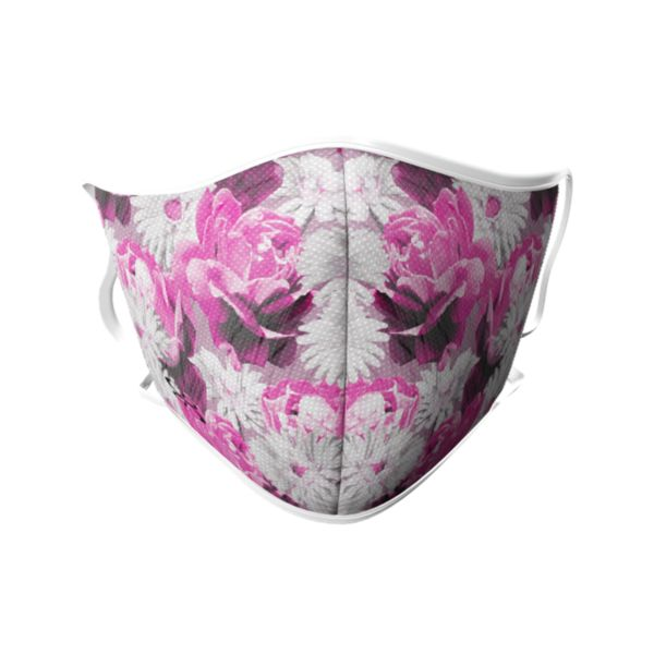 Full Dye Face Masks-3 packs-Unisex-Blooms PK/W