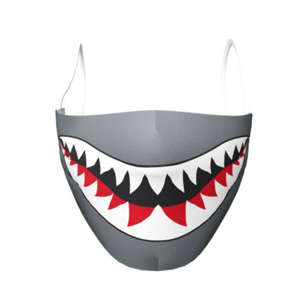 Shark Elastic Over Ear Face Mask