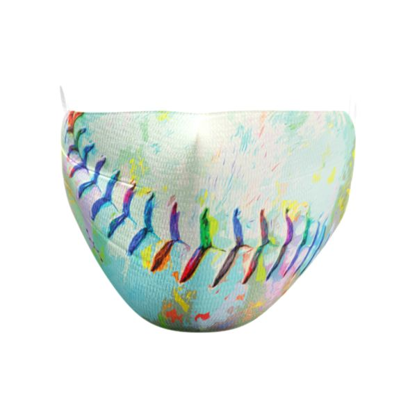 Rainbow Stitches Elastic Over Ear Face Mask