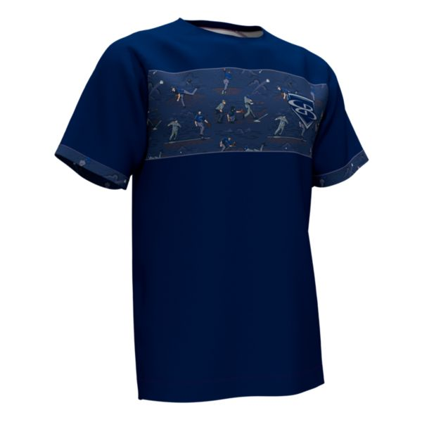 Men's Graphic Diamond Sports Loose Fit T-Shirts