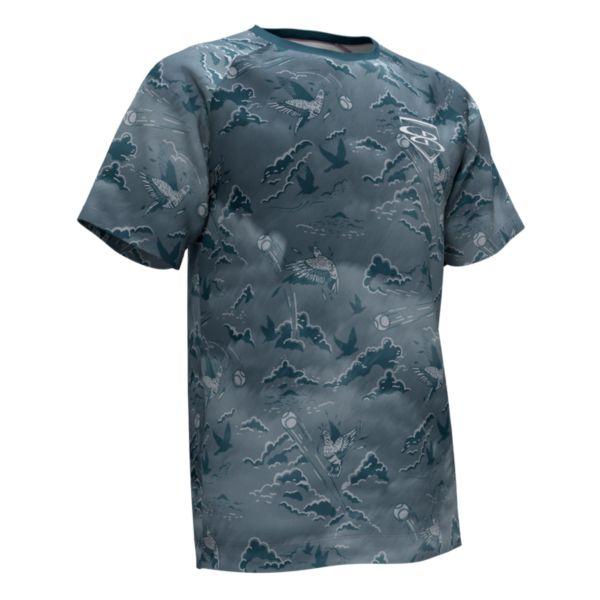Men's Graphic Diamond Sports Loose Fit T-Shirts
