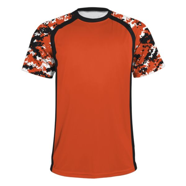 Men's Atomic Performance Tee Black/Orange
