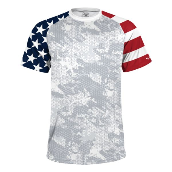 Youth USA Camo On INK Short Sleeve Shirt