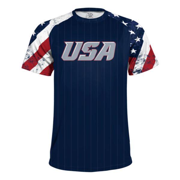 Youth USA Highlight Performance Shirt