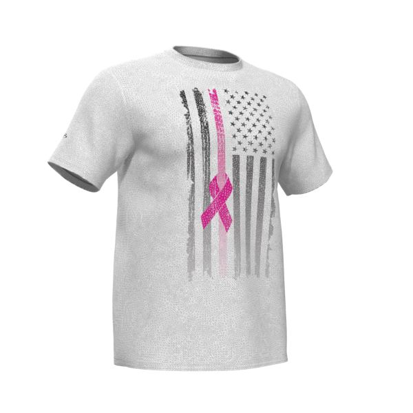 Men's Breast Cancer Awareness Density Knit T-Shirt
