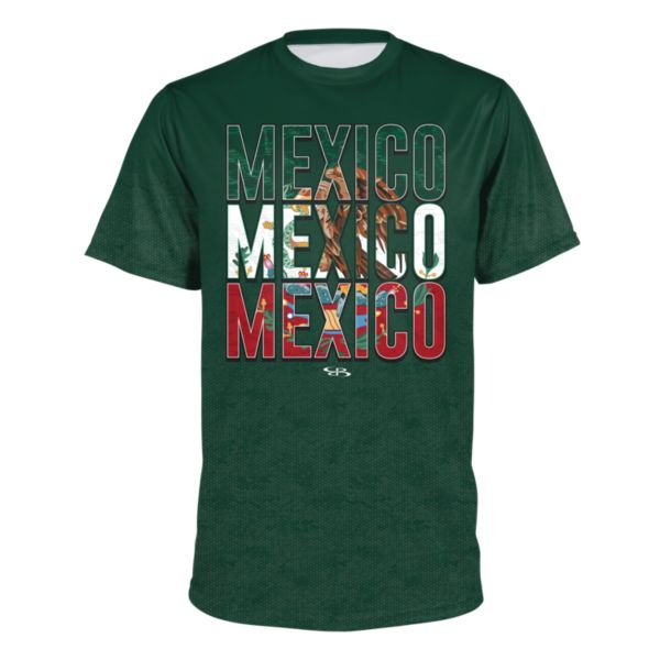 Men's Mexico Country Pride Loose Fit Performance T-Shirt
