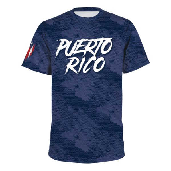 Men's Puerto Rico Country Pride Loose Fit Performance T-Shirt