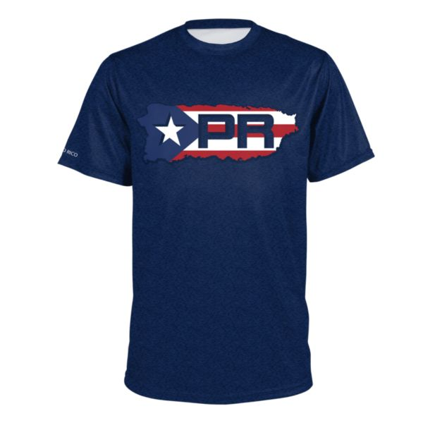 Men's Puerto Rico Strong INK Short Sleeve Shirt