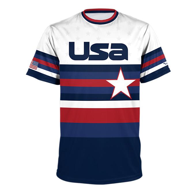 05004539ca Men's USA BB Play Ball Performance Shirt