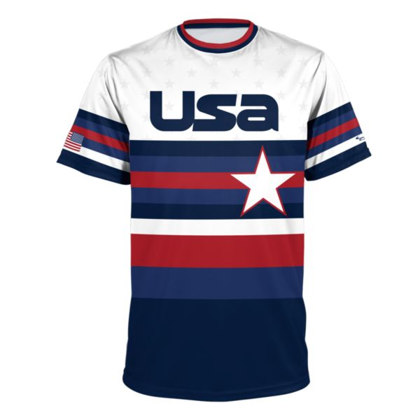 Men's USA BB Play Ball Performance Shirt