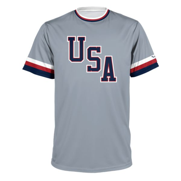 Men's USA BB Throwback Performance Shirt