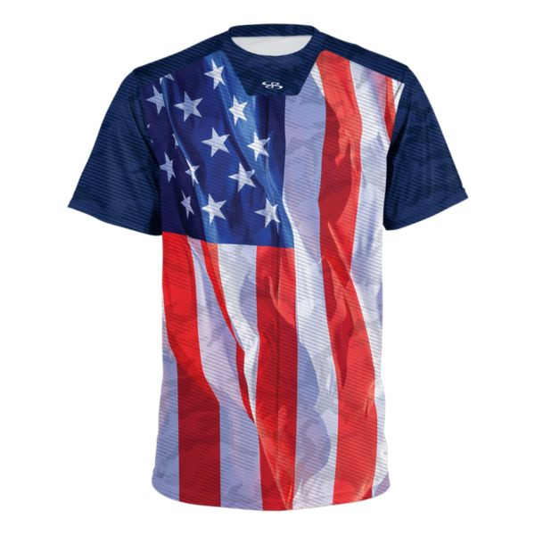 Men's USA Pledge Royal/Navy/White