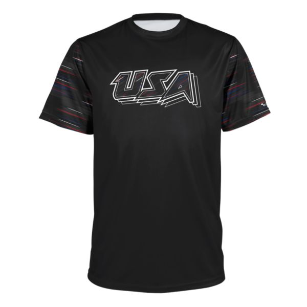 Men's USA Anthem Black/Royal/Red