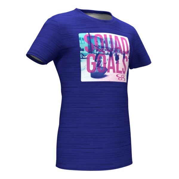 Girls' Graphic Diamond Sports T-Shirts