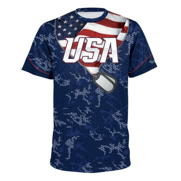 Youth USA Honor Performance Shirt