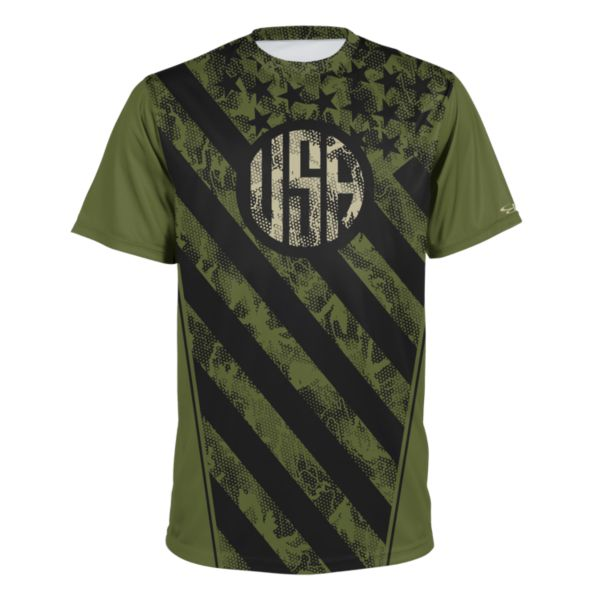 Youth USA Victorious Performance Shirt