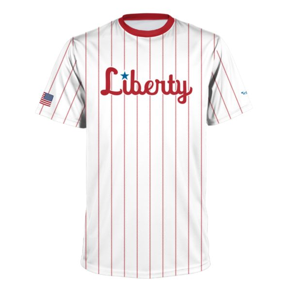 Youth USA BB Pins Liberty Performance Shirt