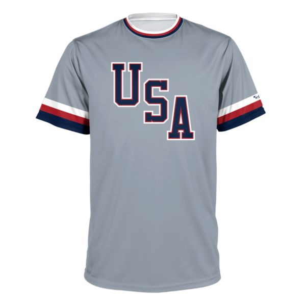 Youth USA BB Throwback Performance Shirt