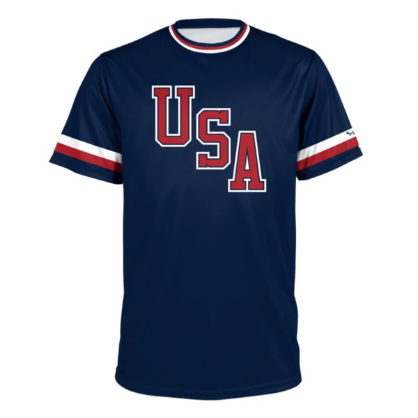 Youth USA BB Throwback Performance Shirt