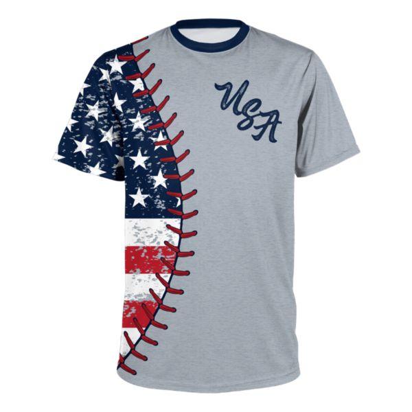 Youth USA Pitch T-Shirt