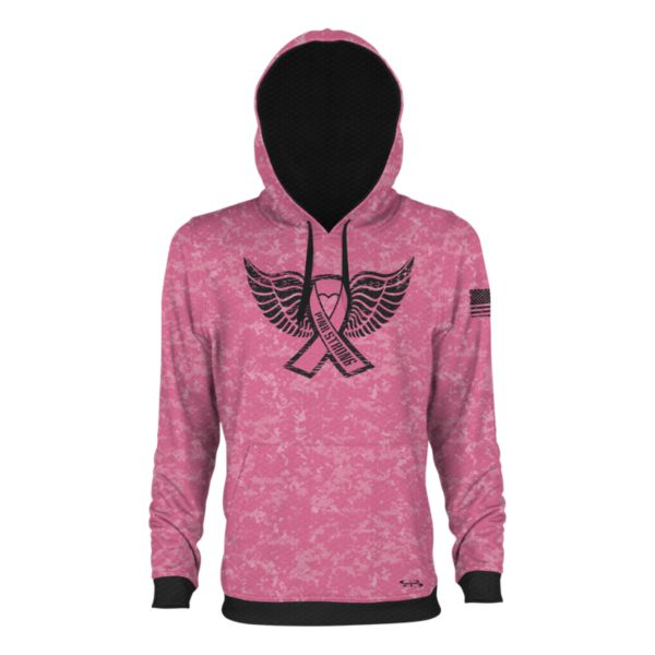 Men's BCA Pink Strong Verge Hoodie Pink/Black