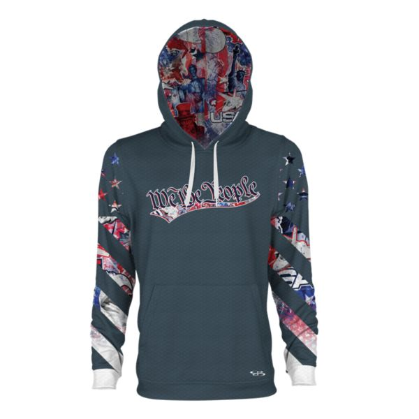 Youth USA Declaration Verge Hoodie Storm/Red/White