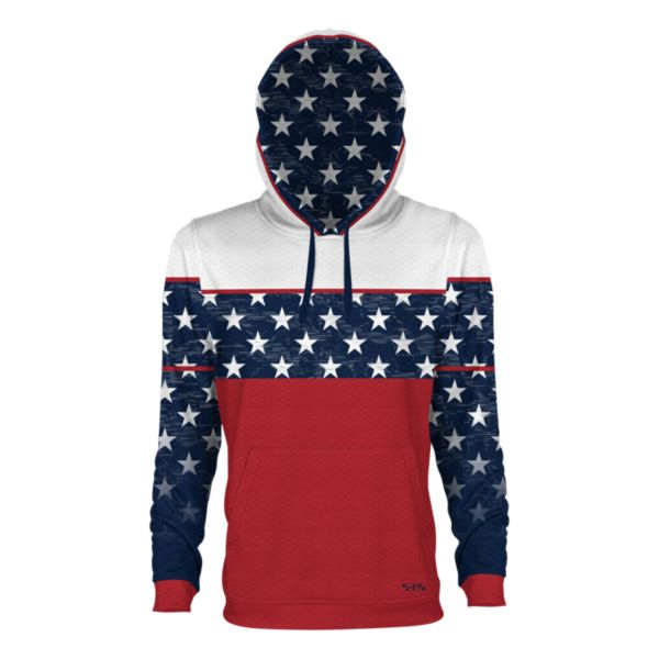 Youth USA Homefront Verge Hoodie Navy/Red/White