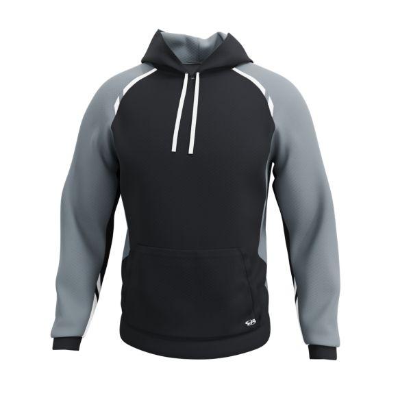 Men's Verge Elite Hoodie Black/Charcoal/White