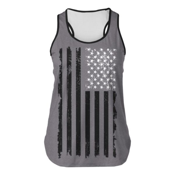 Women's USA Lotus Semi-Fitted Tank