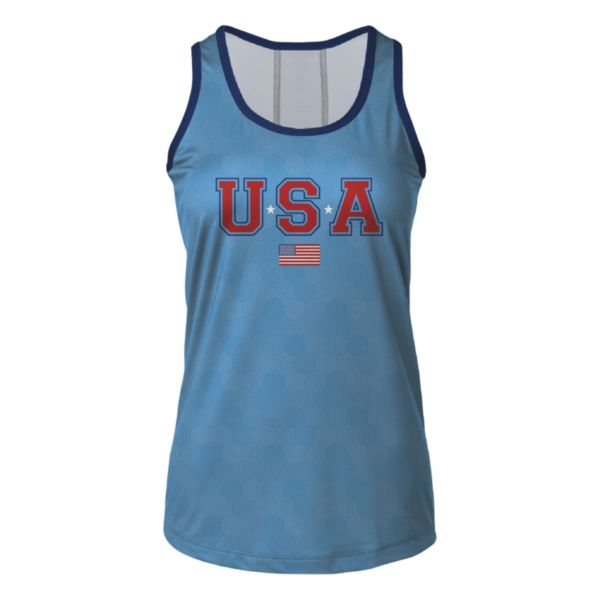 Women's USA Fly-By Ultra Performance Tank