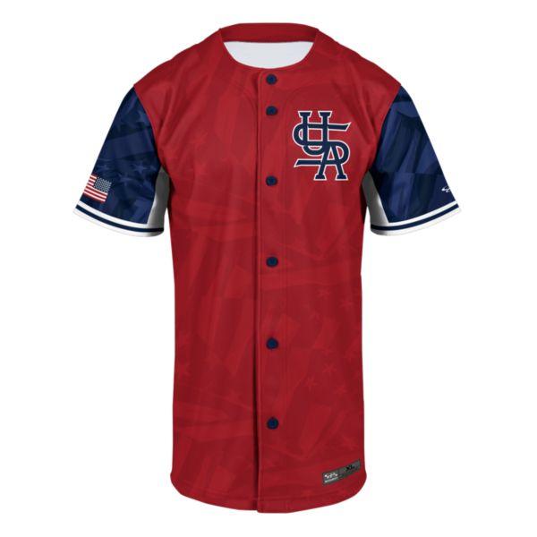 Men's USA Unity Full Button Fan Jersey