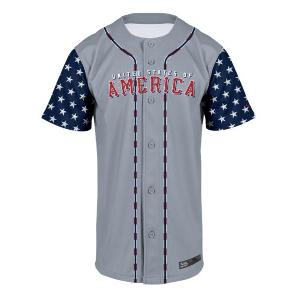 Men's USA America Baseball Jersey