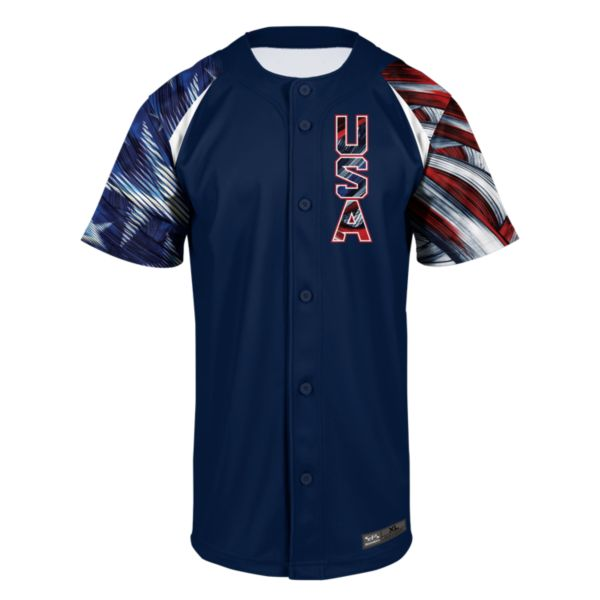 Men's USA Brave Baseball Jersey