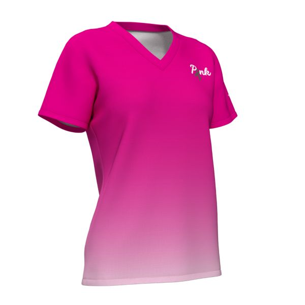 Women's Breast Cancer Awareness Micromesh T-Shirt
