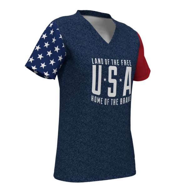Women's Inspire Micromesh V-Neck T-Shirt