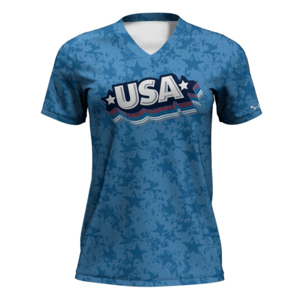 Women's USA Rocket T-Shirt