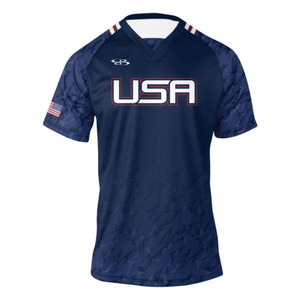 Men's USA Score Soccer Jersey
