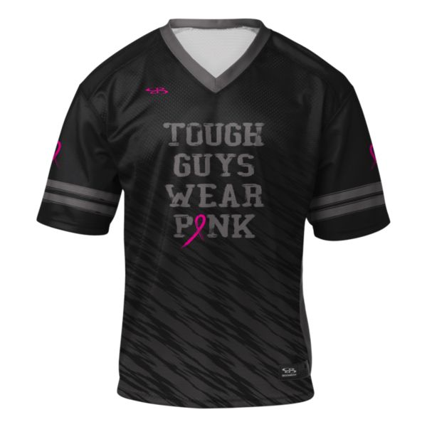 Men's Breast Cancer Awareness Fan Football Jersey