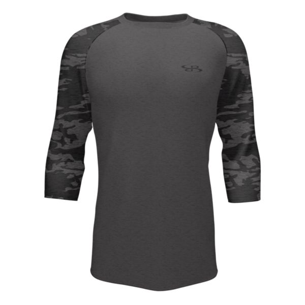 Men's 3/4 Sleeve USA Tactic Black