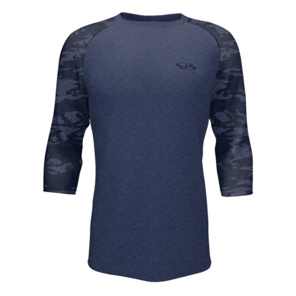 Men's 3/4 Sleeve USA Tactic Navy