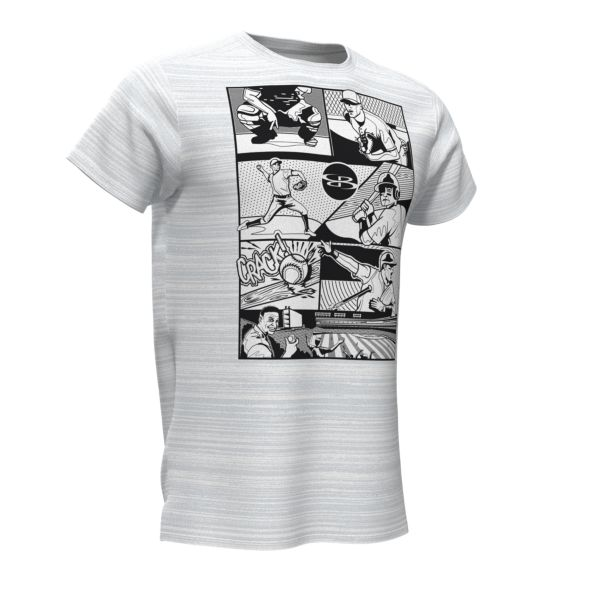 Men's Graphic Diamond Sports Fitted T-Shirts