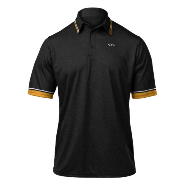 Men's Classic Premier Polo Black/Gold