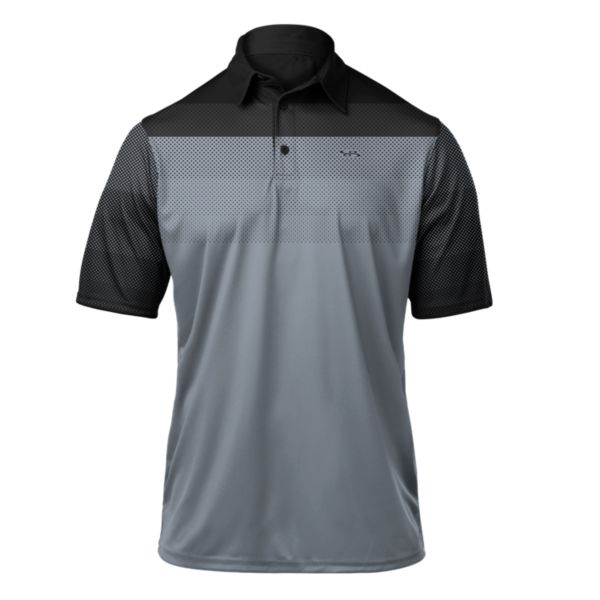 Men's React Premier Polo Black/Gray