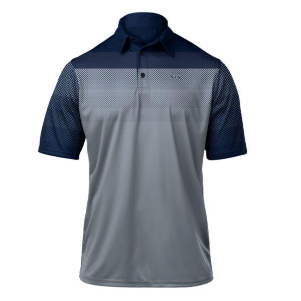 Men's React Premier Polo Navy/Gray